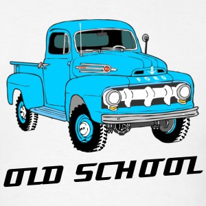 Ford F1 Old School Truck Shirt - Men's T-Shirt
