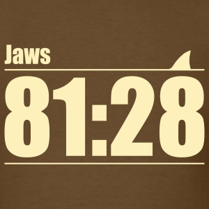 Brown Jaws: You're gonna need a bigger boat T-Shirts - Men's T-Shirt