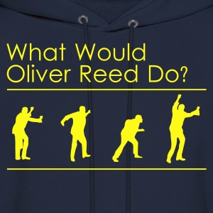 Navy What would Oliver Reed do? Hoodies - Men's Hoodie