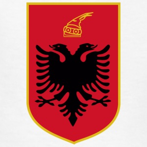 Current Official Coat of Arms of Republic of Albania - Kids' T-Shirt