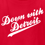 Design ~ Down with Detroit Children's T-Shirt