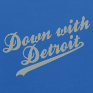Design ~ Down with Detroit Kid's Hooded Sweatshirt