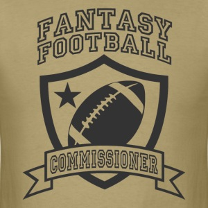Khaki fantasy football commissioner T-Shirts - Men's T-Shirt