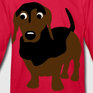 Franz Doxie - Kids' Long Sleeve T-Shirt