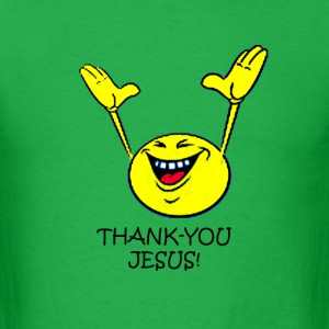 THANKS JESUS - Men's T-Shirt