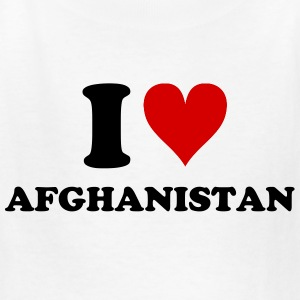 I [heart] Afghanistan - Kids' T-Shirt