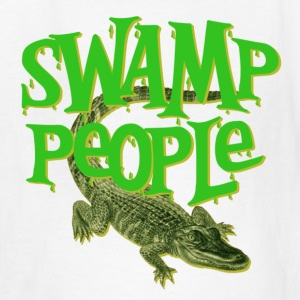 White Swamp People Alligators Kids' Shirts - Kids' T-Shirt