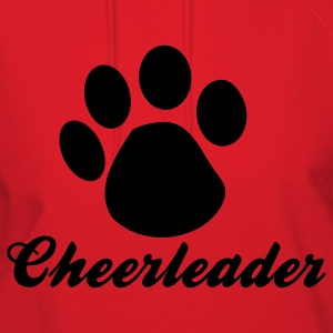 Red cheerleader paw Hoodies - Women's Hoodie