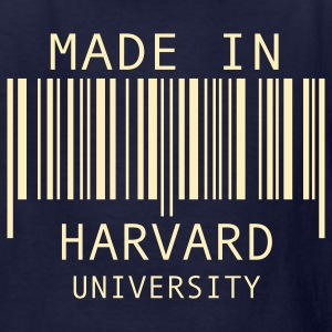 Navy Made in Harvard University Kids' Shirts - Kids' T-Shirt