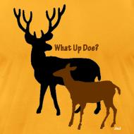 Design ~ What Up Doe? Men's American Apparel Tee