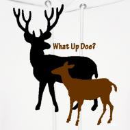 Design ~ What Up Doe? Men's Hooded Sweatshirt