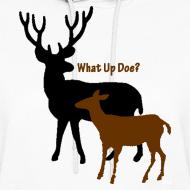 Design ~ What Up Doe? Women's Hooded Sweatshirt