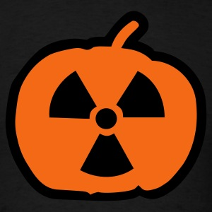 Black Halloween radioactive T-Shirts - Men's T-Shirt
