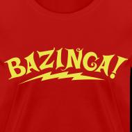 Design ~ BAZINGA Women's T-Shirt Flex