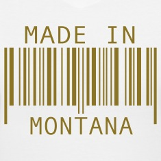White Made in Montana Women's T-Shirts