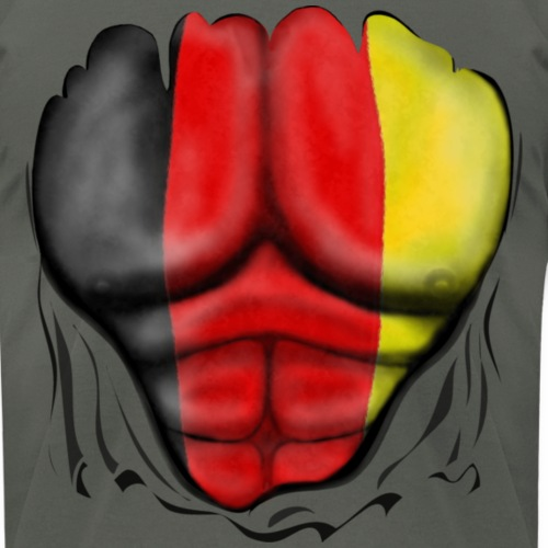 Germany Flag Ripped Muscles