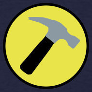 Design ~ CAPTAIN HAMMER T-Shirt - New Metallic Hammer!