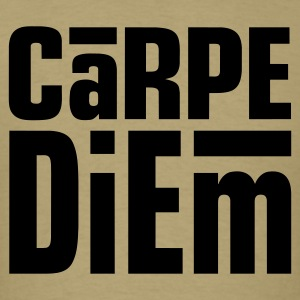 Carpe Diem Dark on Standardweight Shirt - Men's T-Shirt