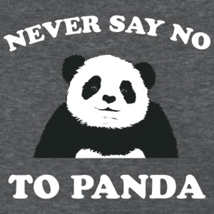 Deep heather Never Say No To Panda - White Women's T-Shirts - Women's T-Shirt