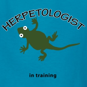 Herpetologist in Training - Kids' T-Shirt
