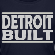 Design ~ Detroit Clothing Built Women's Long Sleeve Jersey Tee