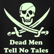 Design ~ PIRATES of the CARIBBEAN T-Shirt - Dead Men Tell No Tales! (Glow)