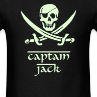 Design ~ PIRATES of the CARIBBEAN T-Shirt - Captain Jack Costume