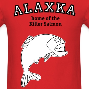 Salmon from Alaska t-shirt - Men's T-Shirt