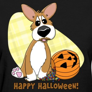 Happy Halloween Corgi Women's TShirt - Women's T-Shirt