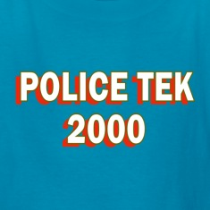 Orange Police Tek 2000 Reno Kids' Shirts