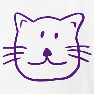 White Cat Kids' Shirts - Kids' T-Shirt