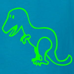 Kelly green Dinosaur - Dino Kids' Shirts - Kids' T-Shirt