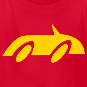 Red Race Car Kids' Shirts - Kids' T-Shirt
