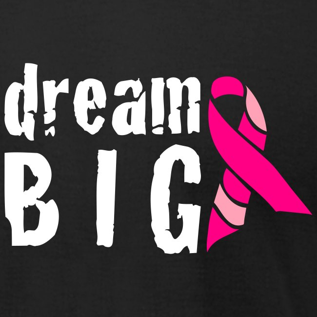 Dream Big For Breast Cancer Awareness T-Shirt