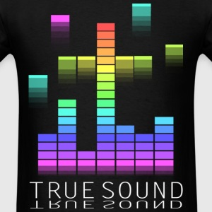 Black true sound T-Shirts - Men's T-Shirt