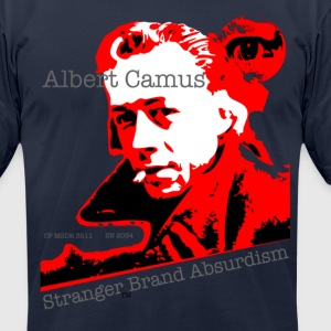 Albert Camus - Men's T-Shirt by American Apparel