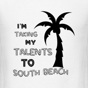 To South Beach - Men's T-Shirt