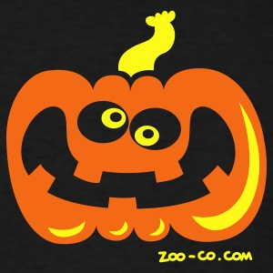Black Even Crazier Pumpkin T-Shirts - Men's T-Shirt