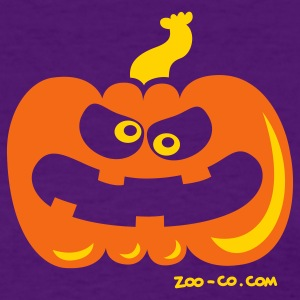 Purple Angry Pumpkin Women's T-Shirts - Women's T-Shirt