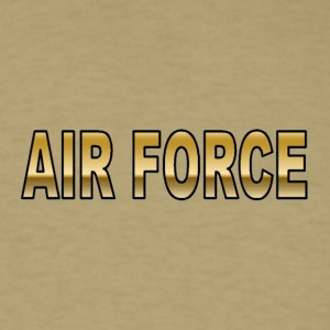 Khaki airforce T-Shirts - Men's T-Shirt