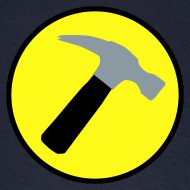 Design ~ CAPTAIN HAMMER Cap - New Metallic Hammer!
