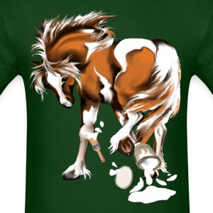 Paint Horse with Paints - Men's T-Shirt