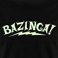 Design ~ NEW Limited Edition GLOW IN THE DARK BAZINGA T-Shirt - Halloween Edition