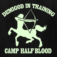 Design ~ GLOW IN THE DARK DEMIGOD T-Shirt - Centaur Halloween Limited Edition