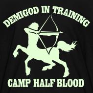 Design ~ GLOW IN THE DARK DEMIGOD T-Shirt - Centaur Halloween Limited Edition
