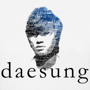 Big Bang - Daesung Typography - Women's T-Shirt