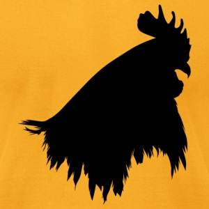 Gold cock head T-Shirts - Men's T-Shirt by American Apparel