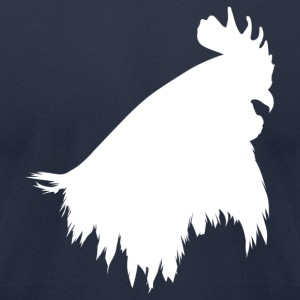 Navy cockhead T-Shirts - Men's T-Shirt by American Apparel