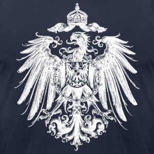 Navy heraldry T-Shirts - Men's T-Shirt by American Apparel