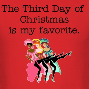 Third Day of Christmas - Men's T-Shirt